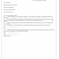 letter of demand template repair services